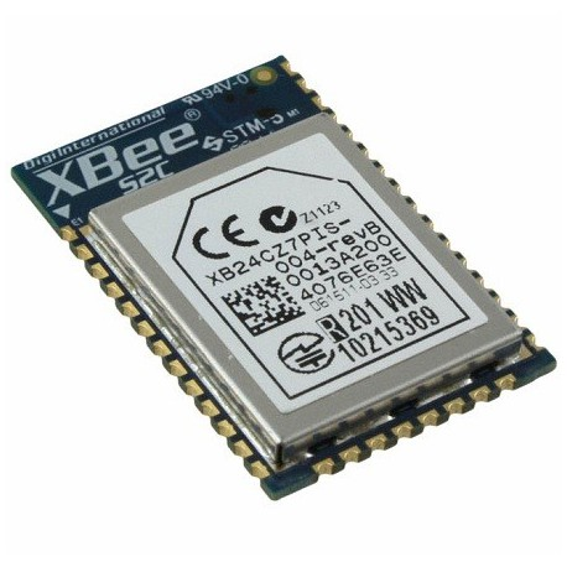 XB24CZ7PIS-004 - moduł XBee (ZigBee) o mocy 6,3 mW z anteną PCB