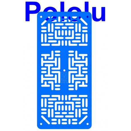 Pololu 1534 - Pololu RP5/Rover 5 Expansion Plate RRC07A (Narrow) Solid Light-Blue