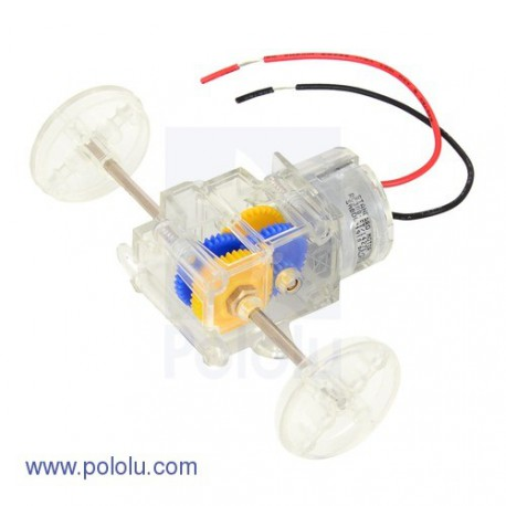 Pololu 2196 - Tamiya 70203 Low-Current Motor Gearbox (3-Speed)