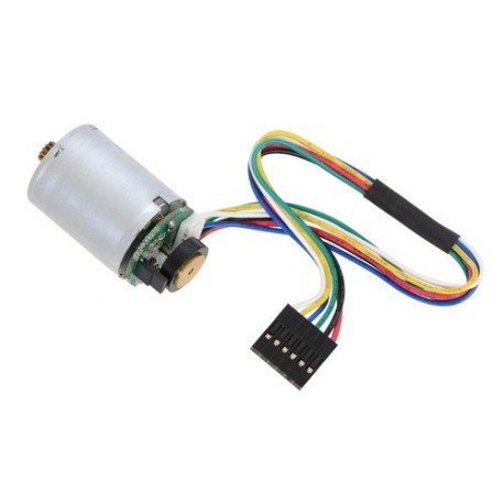 Pololu 2269 - HP Motor with 48 CPR Encoder for 25D mm HP Metal Gearmotors (No Gearbox)