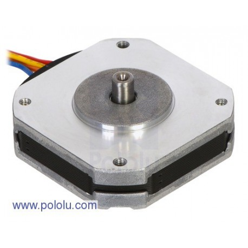 Pololu 2298 - Sanyo Pancake Stepper Motor: Bipolar, 200 Steps/Rev, 42A—11.6mm, 3.5V, 1 A/Phase