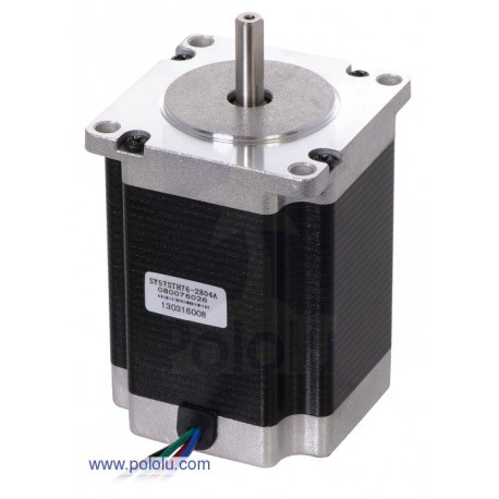 Pololu 1478 - Stepper Motor: Bipolar, 200 Steps/Rev, 57A—76mm, 3.2V, 2.8 A/Phase