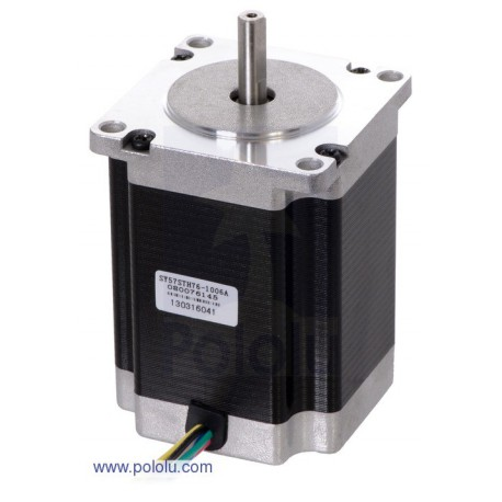 Pololu 1477 - Stepper Motor: Unipolar/Bipolar, 200 Steps/Rev, 57A—76mm, 8.6V, 1 A/Phase