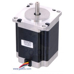 Pololu 1475 - Stepper Motor: Unipolar/Bipolar, 200 Steps/Rev, 57A—76mm, 4.5V, 2 A/Phase