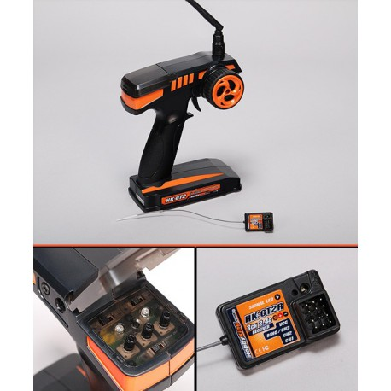 Hobby King GT-2 2.4Ghz 2Ch Tx & Rx