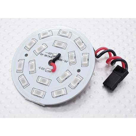 Blue 16 LED Circular Light Board with Lead