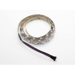 RGB LED Flexible Strip with 4-pin Driver Connector 1m (Red / Green / Blue)