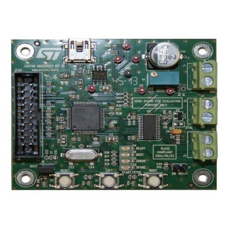 EVAL6470H-DISC - development kit with STM32F105 microcontroller