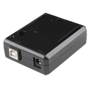Arduino Uno Enclosure - Black Plastic