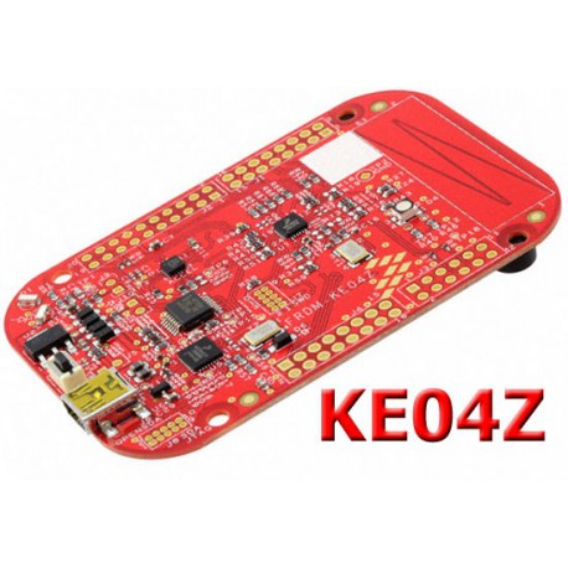 FRDM-KE04Z - starter kit with Freescale Kinetis KE04Z microcontroller (5V power supply)