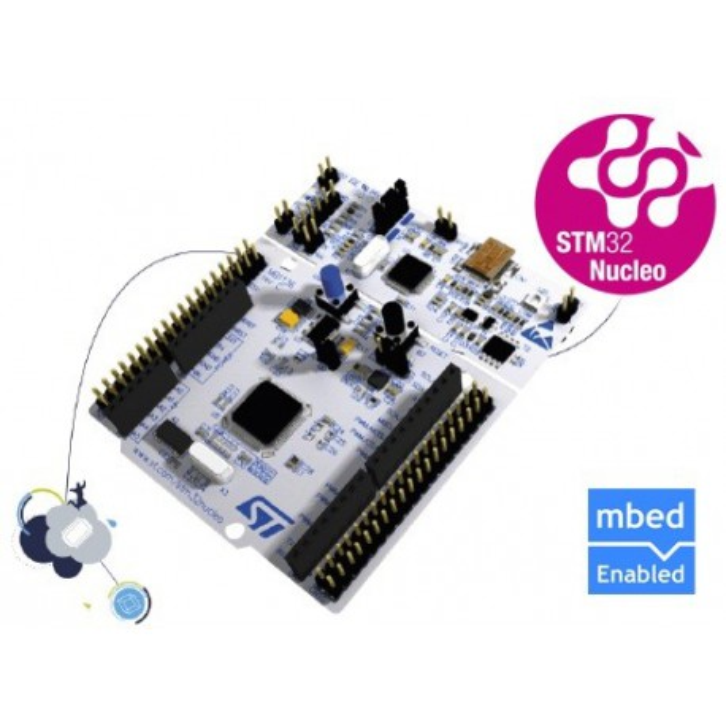 NUCLEO-F411RE - zestaw startowy z mikrokontrolerem z rodziny STM32 (STM32F411)
