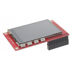 modRPi TFT28 - wyświetlacz dotykowy rezystancyjny 2.8 cala dla Raspberry Pi 3/2/B+/B