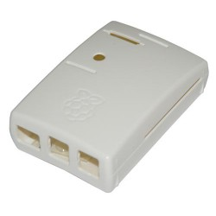 Obudowa do Raspberry Pi 3/2/B+ biała zaokrąglona