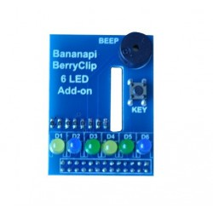 BPI - BerryClip 6led