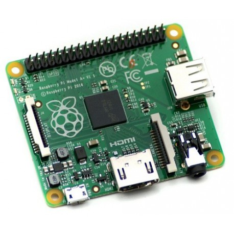 Raspberry Pi 1 model A+ - komputer z BCM2835 i 256 MB RAM