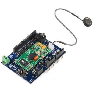 Analog panel voltmeter 0..5V