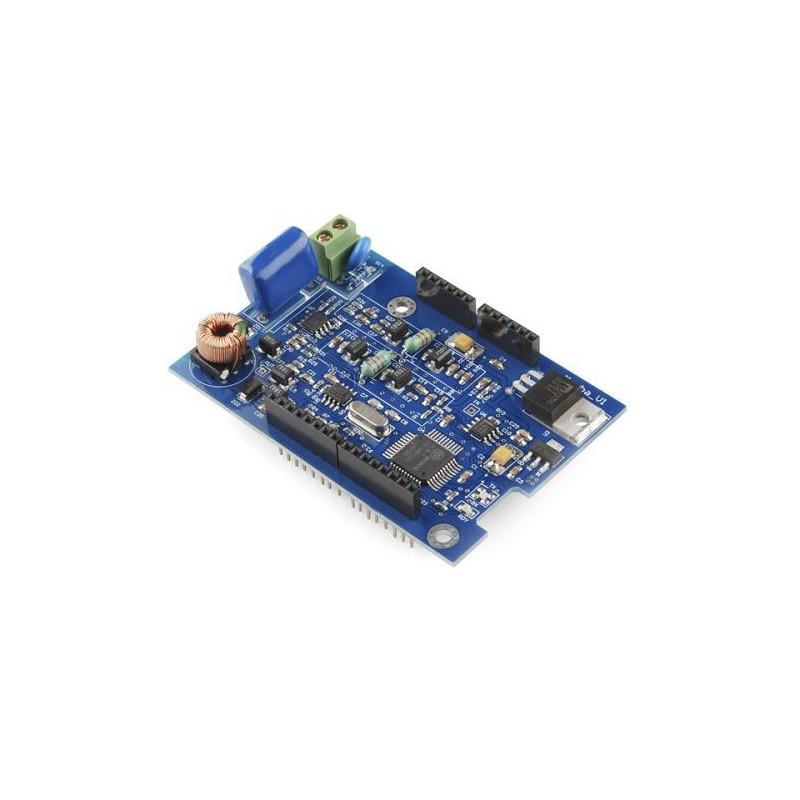 Analog panel voltmeter 0..30V