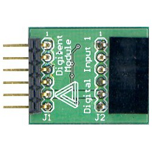 PmodDIN1 (410-067) - moduł wejść cyfrowych z debouncerem