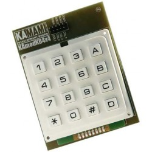 KAmodKB4x4 - module of a 16-button 4 × 4 matrix keyboard