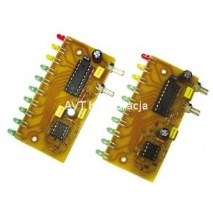 Breadboard-friendly RGB Smart NeoPixel - zestaw 4 modułów z diodami LED