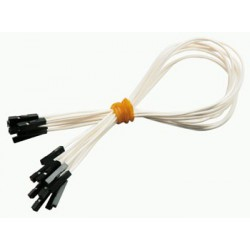 Jumper wires, set of 10 pcs., white
