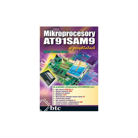 AT91SAM9 microprocessors in the examples