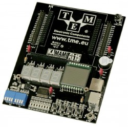 ZL15PLD - base board for dipPLD modules with XC2C256 (CoolRunner-II by Xilinx)