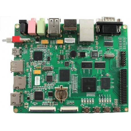 "Embest DevKit8500D with 7"" LCD"