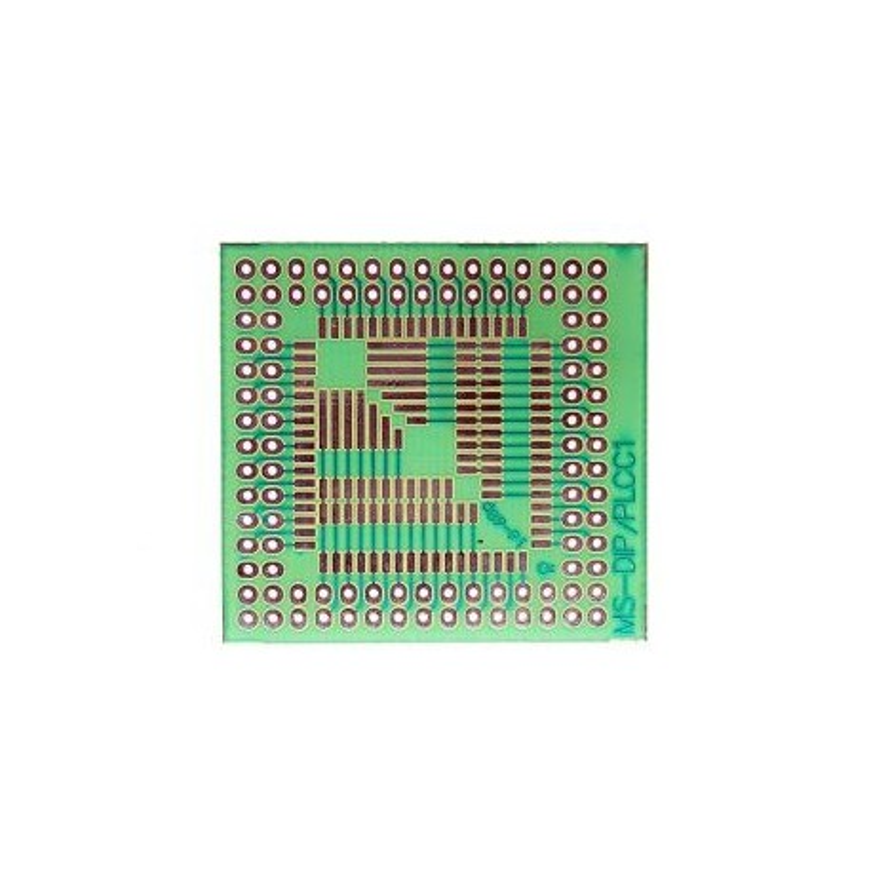 Adapter PLCC DIP. Płytka uniwersalna prototypowa DIP/PLCC1