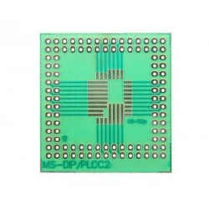 Adapter PLCC DIP. Płytka uniwersalna prototypowa DIP/PLCC2