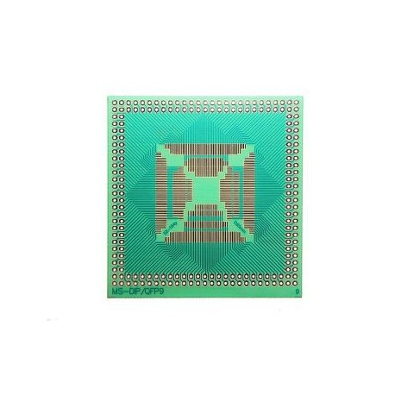 Adapter QFP DIP. Płytka uniwersalna prototypowa DIP/QFP9