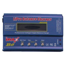 B6 charger with balancer for LiIon, LiPo, LiFe, Ni-Cd, Ni-MH, PB packages