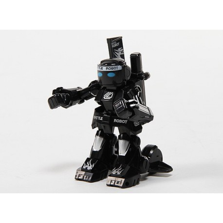 Battle Robot remote controlled with charger and 2.4 GHz remote control (black)