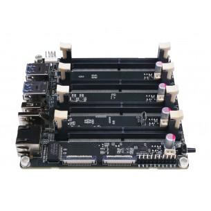 Analogowy amperomierz panelowy 0..100 uA