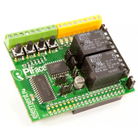 RPI - PiFace Digital 2