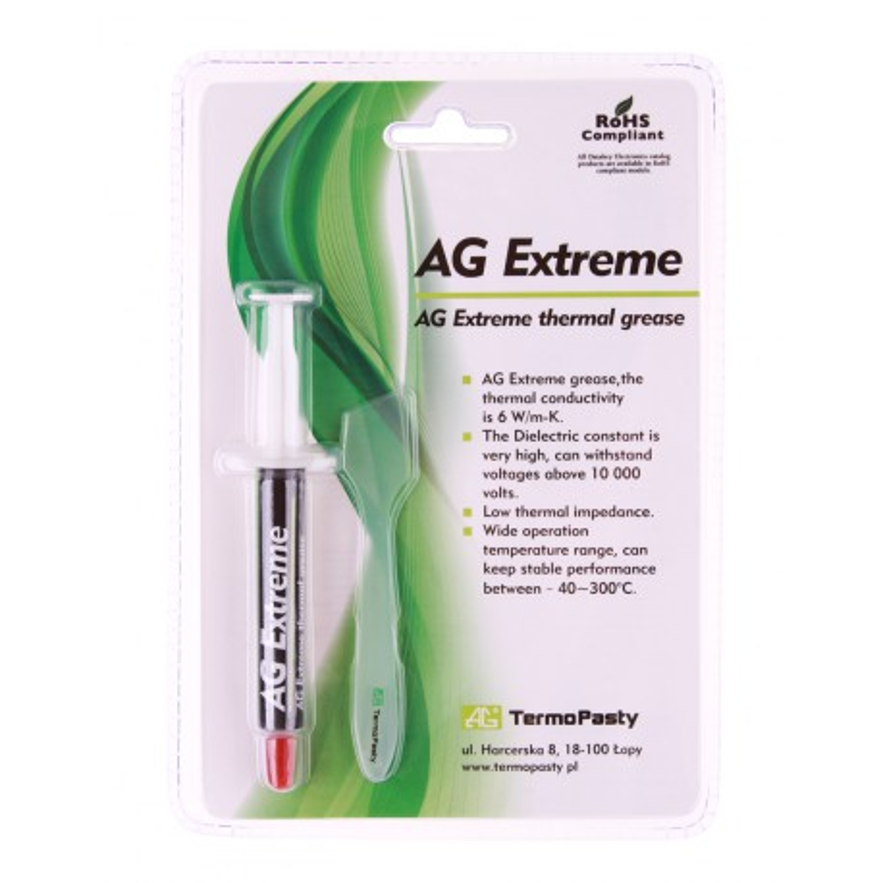 Pasta termoprzewodząca Extreme 3g AG