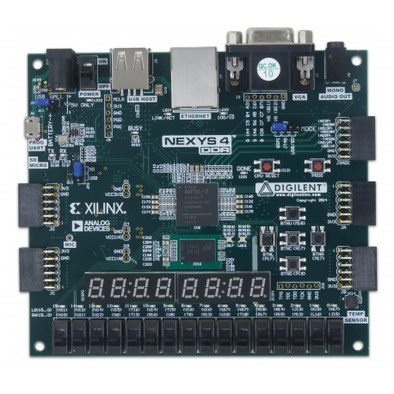 nexys4-ddr-artix-7-fpga-board