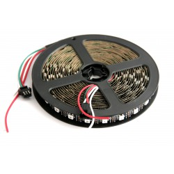 RGB LED strip WS2812B with a length of 5m 60LED / m