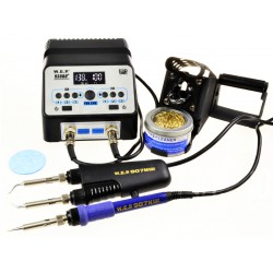 WEP 938BD + - soldering station with a flask and thermocouple