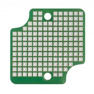 Miernik panelowy LED woltomierz DC 100V/amperomierz 10A