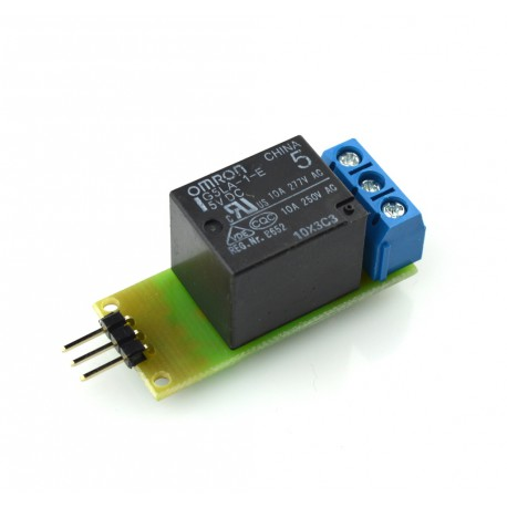 Executive module with relay