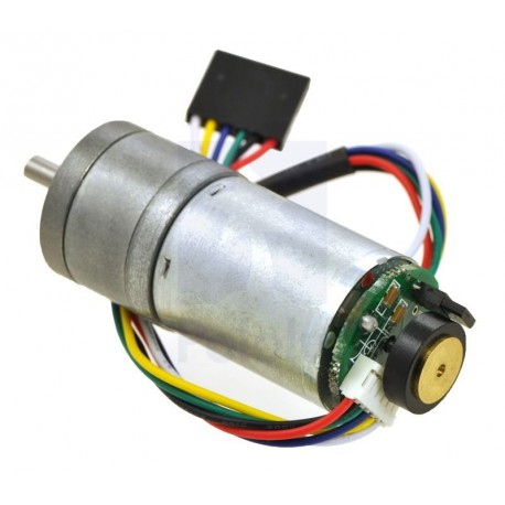 99:1 Metal Gearmotor 25Dx54L mm HP with 48 CPR Encoder