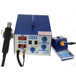 WEP 872D + - hotair soldering station + soldering iron 75W