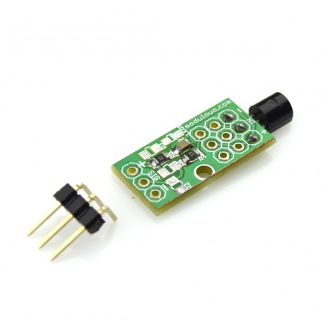 Analog temperature sensor LM35DZ