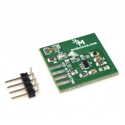 Bistable touch button - module with AT42QT1012