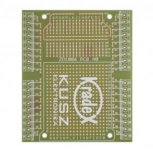 Przycisk dotykowy bistabilny - moduł z układem AT42QT1012