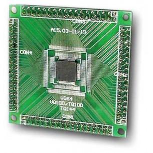 Listwa stykowa 2.54mm prosta 1x10, czarna