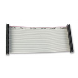 40-way flat Ribbon Cable with IDC connectors