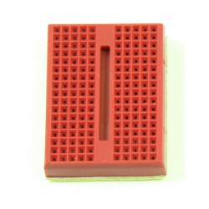 Prototypowa płytka stykowa 170 punktów - czerwona