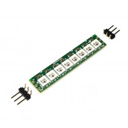ModPixel - Programmable 8-point RGB LED WS2812B line